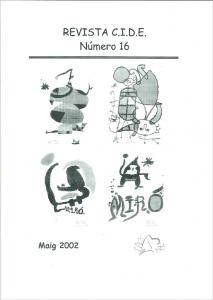 Portada Revista nº 16