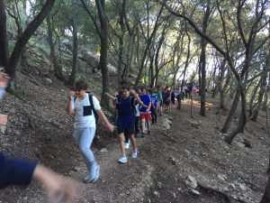 Noti excursió castell Alaró 2n ESO 3